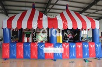 4-in-1 kids Inflatable Midway Carnival sport Games for sale