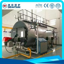 Diesel oil fired industrial steam boiler 4ton for laundry dryers