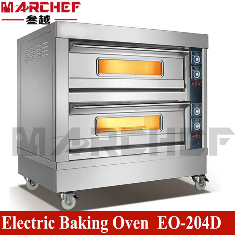 Restaurant Kitchen Oven eo-204d.double deck four trays commercial restaurant kitchen