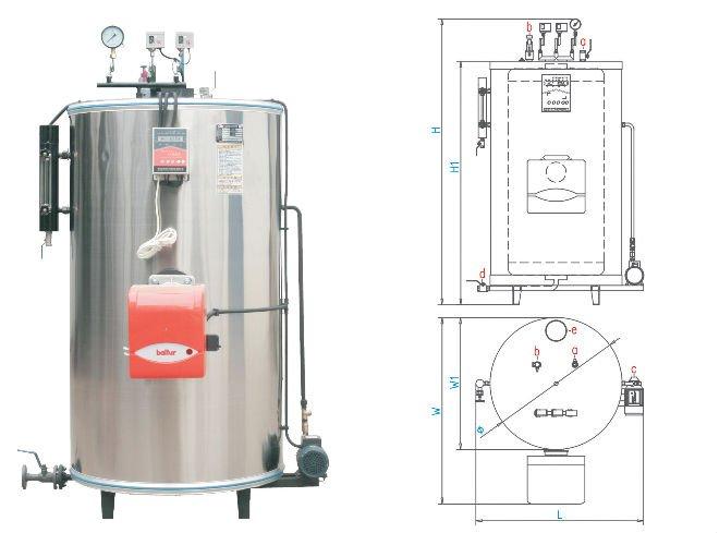 Gas Fired Steam Generator,Steam Boiler 200kg/h - Buy Steam Generator ...