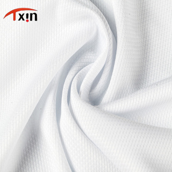 tongxin textile high quality polyester knitted stretch fabric football jersey cloth
