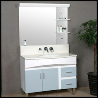 luxury bathroom furniture of glass cabinet for bathroom white bathroom storage cabinet