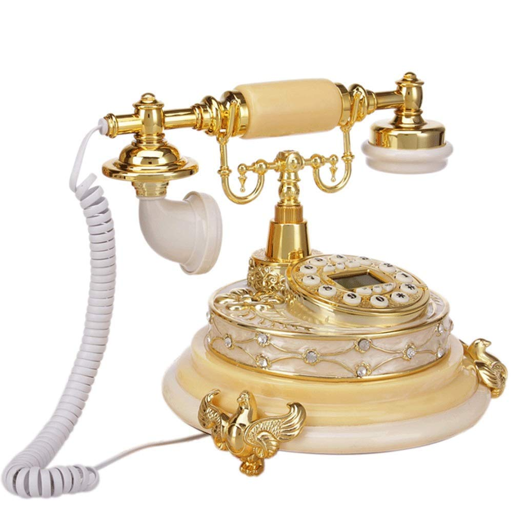 HY Telephone Antique American Style high-end Creative Metal Retro European Style Phone landline