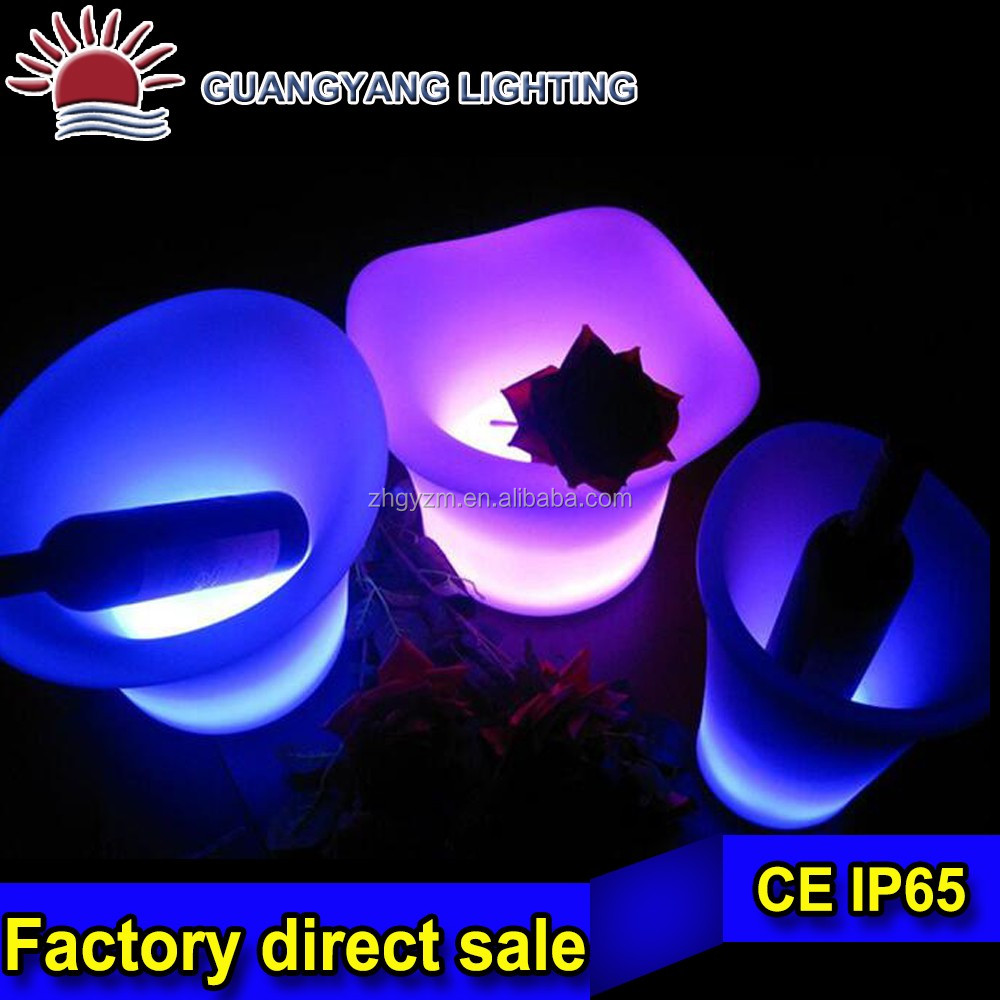 small flower stool led hotel flower pot special hot sell flower pot in storage for decorating
