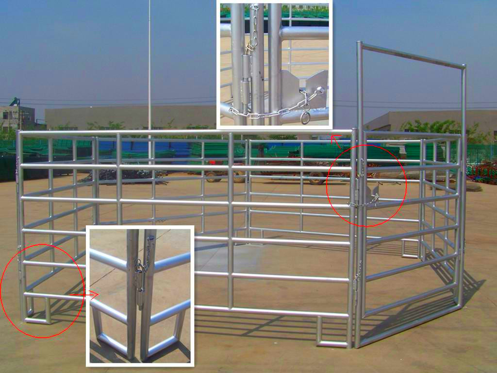 Cheap Cattle Panels For Sale Galvanized Square Wir Horse Fence Panels To  Build A Round Pen - Buy Farm Fence,Horse Fence,Cattle Fence Panel Product  on