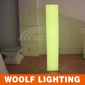 led roman square pillar light design