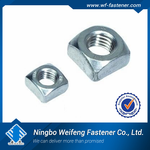 Hot Sell Din 557 M4 M5 M6 Stainless Steel Thin And Thick Square ...