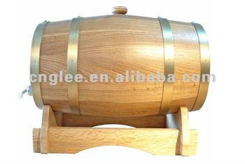 Holz Holz gute antike Box Weinfass 5L