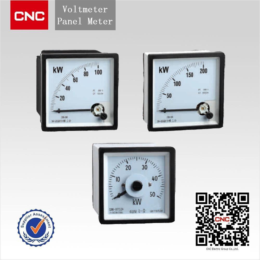 Panel Meter 96 Type Volt Amp Watt Meter