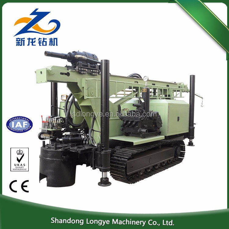 Most popular 300m hydraulic portable water borehole drilling machine SLY550 with good quality