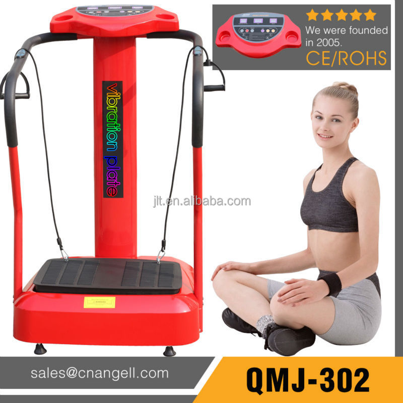 Newest fitness home gym equipment vibration plate machine with CE