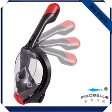 Full Face Snorkel Mask Surface Diving Scuba Gear Easy Breathing with Dry Snorkel