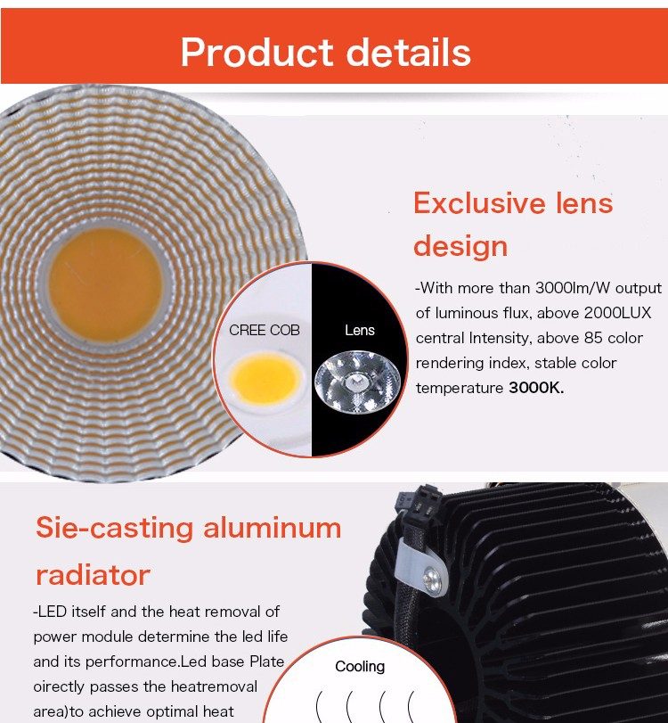Leimove round dimmable led downlights custom made for wholesale-14