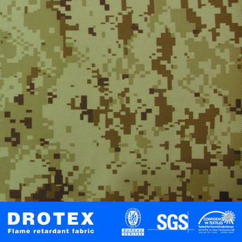 Polyester Rip Stop Digital Camouflage Fabric For Military