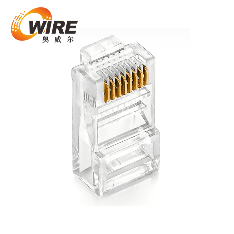 Top Quality RJ45 cat5/cat5e cat6 8P8C modular female connector for network cable