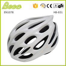 Pearl White Color PC shell multi color acceptable helmet bike