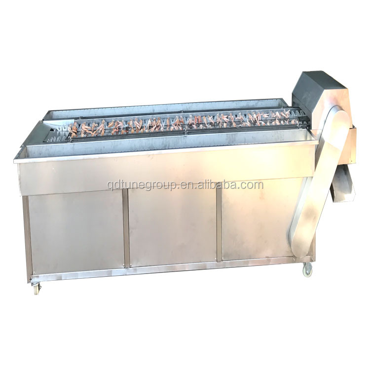 Industrial frozen chicken feet cutting machine chicken feet cutter