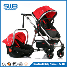 Sliding baby carriage 3 in 1, cheap baby stroller with carriage price