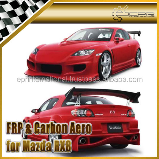 2004 Mazda Protege Kit: Mazda RX-8 2004-2008 MS Style Full Body Kit