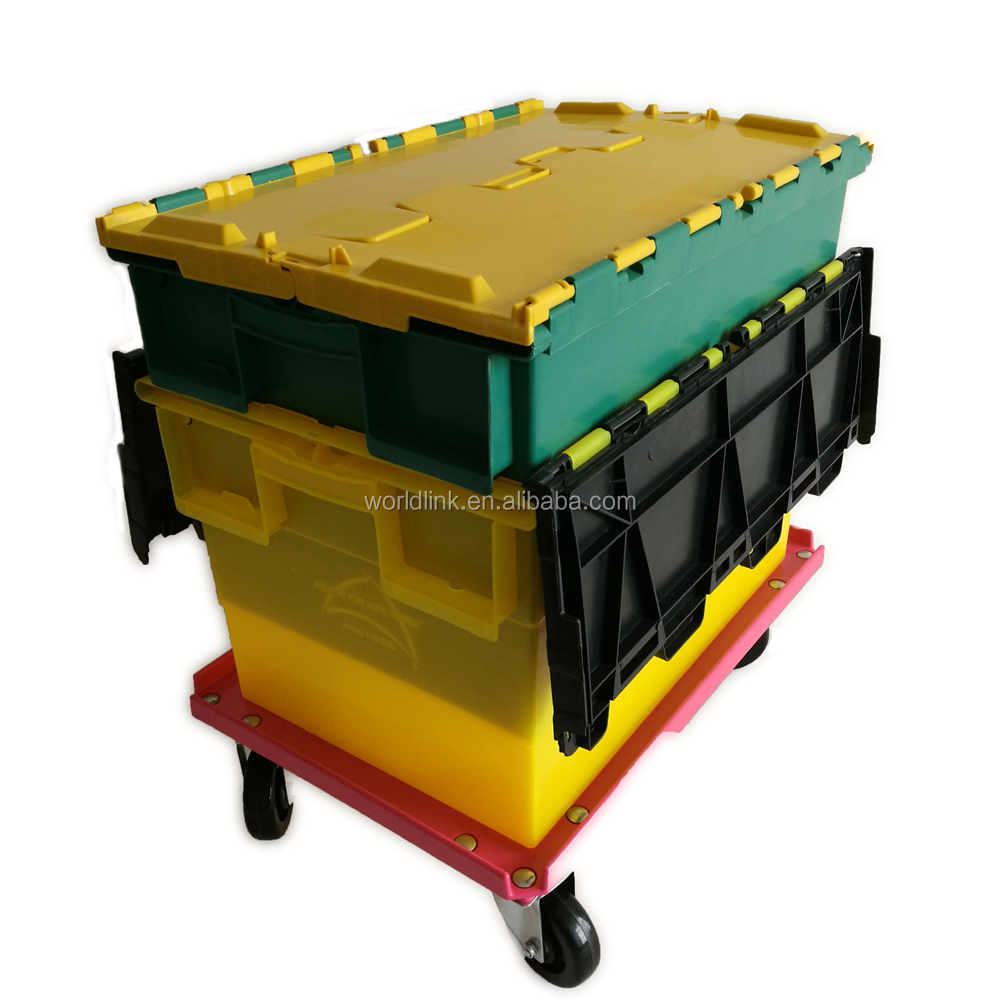 Heavy Duty 70L Storage Packaging Plastic moving Box