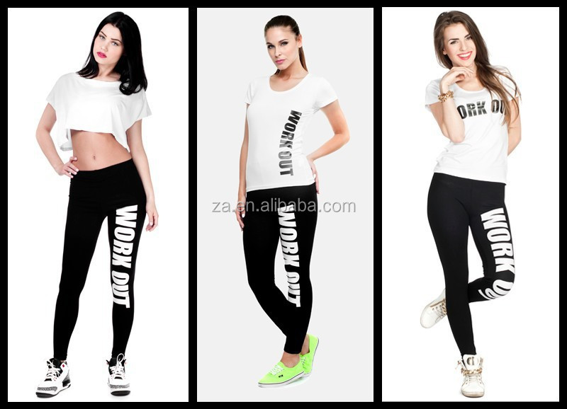 Ladies Exercise Leggings Fast Deliver Ready Stock Sexy Tetris ...