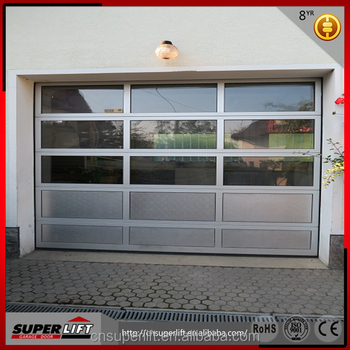 Tinted Glass Garage Door For Residential Garage Buy Glass Garage
