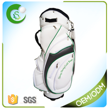 2016 Latest PU Leather Golf Cart Bag