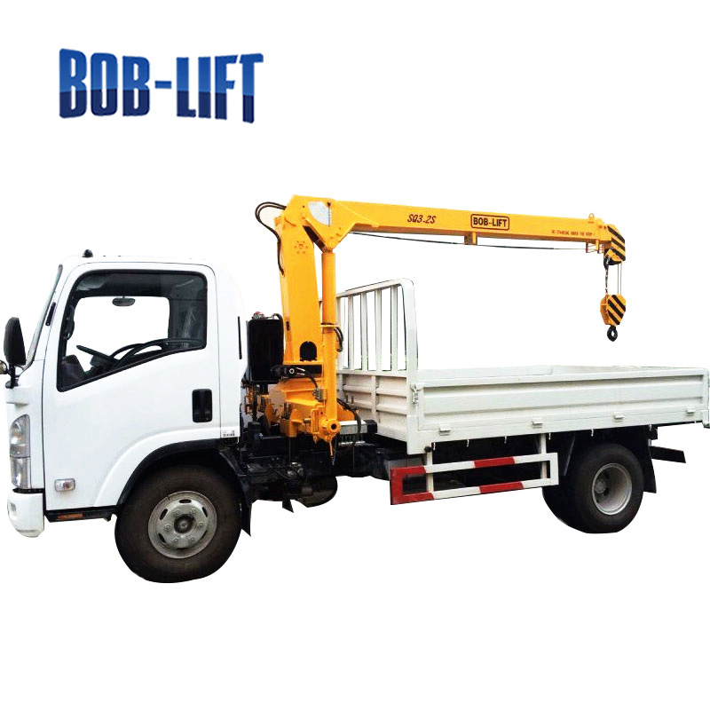 High quality used truck mounted crane in turkey for sale SQ3.2SA2