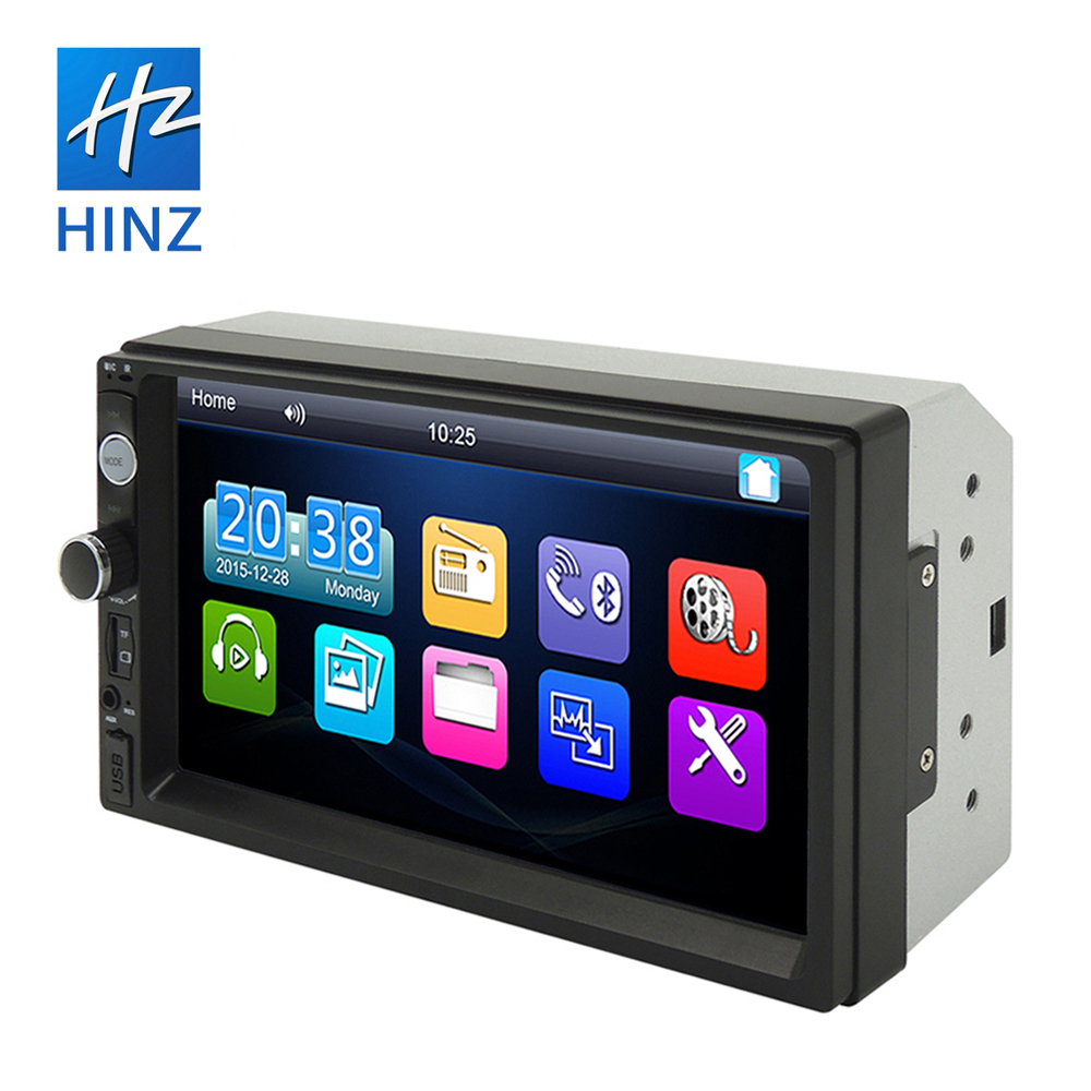 2020 double din 7010b car multimedia <strong>player</strong> 7&quot; touch screen 800*480 car stereo with fm radio bluetooth