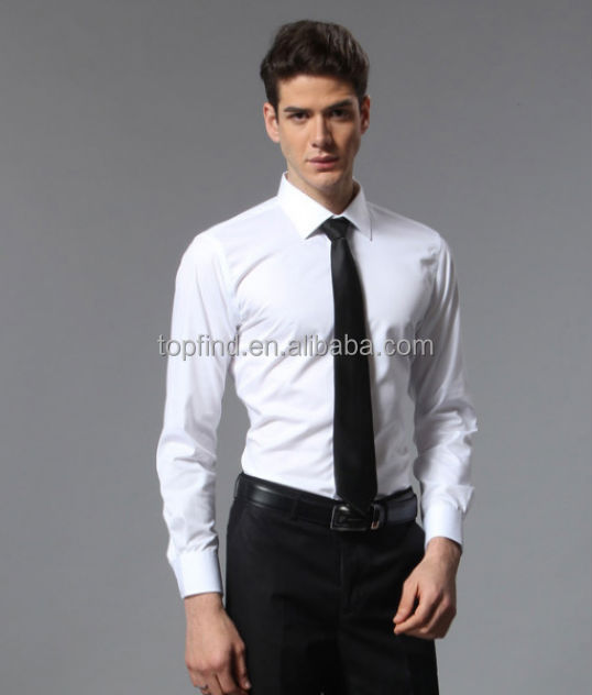 Wholesale,Cheap Long Sleeve White Color Dress Shirts,Tie ...