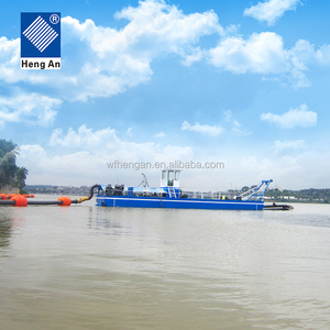 hot sale cutter suction dredger used for dredging river sand