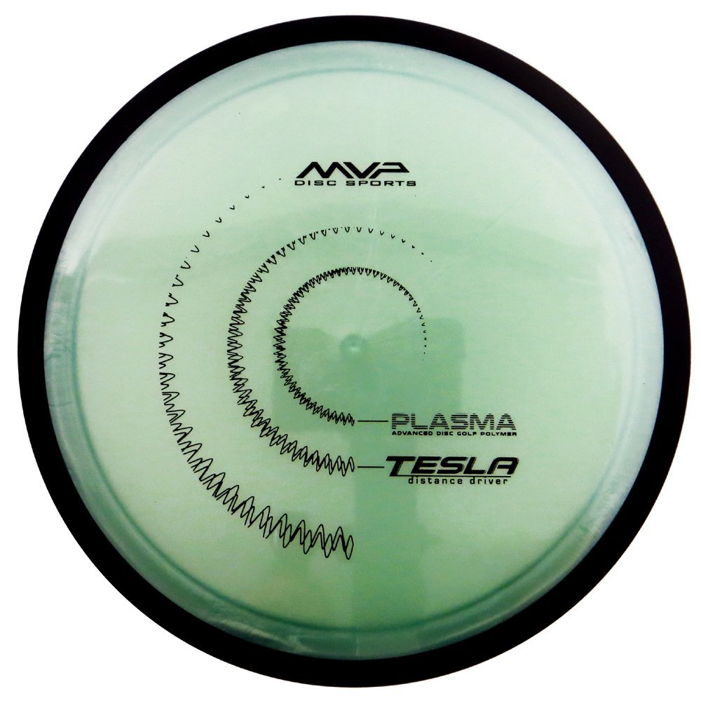 MVP Disc Sports Plasma Tesla Distance Driver Golf Disc [Colors may vary]