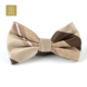 Hot selling customized comfortable polyester self bowtie for men