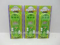 Promotion toys / Mini Golf set on card
