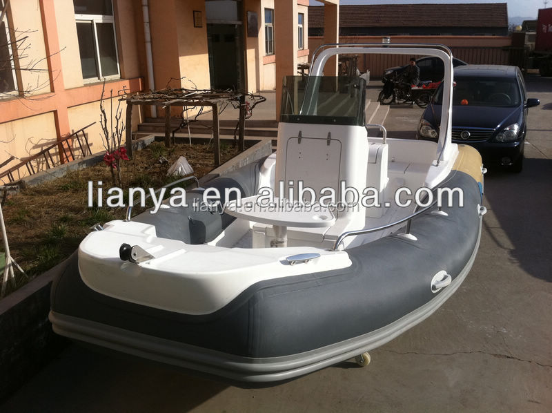 Liya 5.8m rigid boats sailing yachts for sale hard bottom inflatable boats
