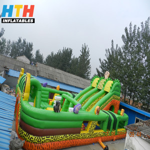 Cheap attractive new style giant inflatable playgrounds for children