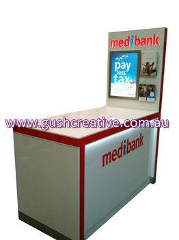 Gc017 Timber/mdf/ Wooden Temporary Kiosk With Led Lighting - Buy Wooden  Kiosk For Sale,Wooden Display Kiosk,Wooden Retail Kiosk Product on  Alibaba com