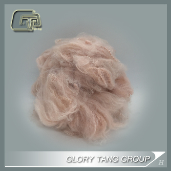 GTR07 solid dope dyed fiber recycled with low price