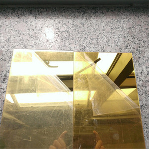 1mm 2mm 3mm gold mirror acrylic sheet