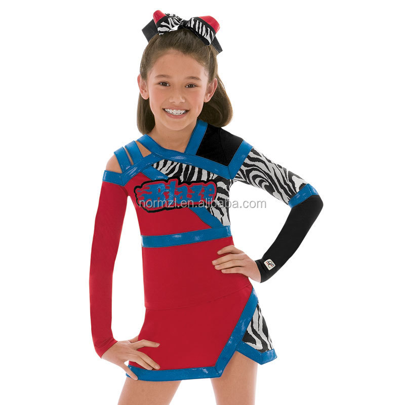 Multiple cheerleader adult