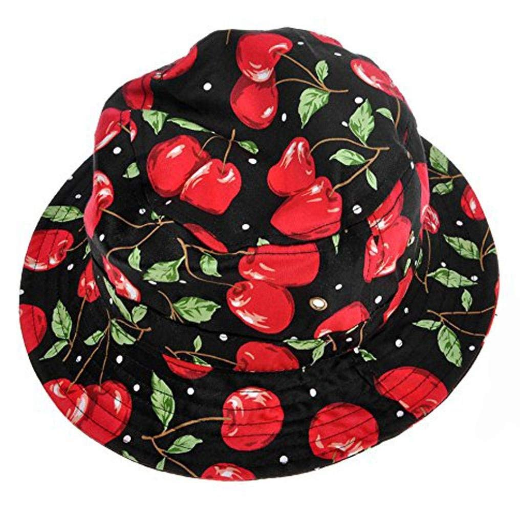 Women's Boonie Hats, Jiayit Adjustable Cap Flower Print Boonie Hats Nepalese Cap Army Mens Fisherman Hat (I)