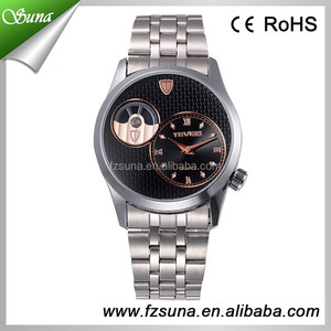 Big Discount Brand TEVISE Watch Fashion Men Watches Stainless Steel Belt Automatic Wristwatches
