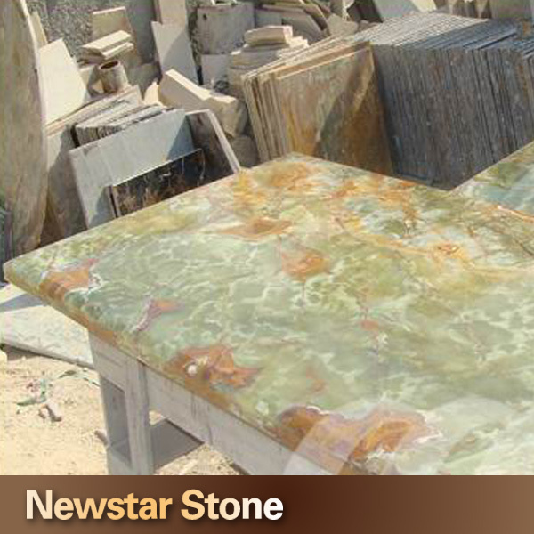 Onyx Countertops Colors : Newstar backlit light green onyx countertops buy