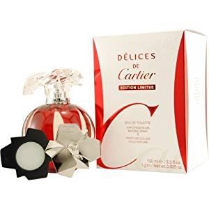 Cartier Delices de Cartier EDT Gift Set for Women