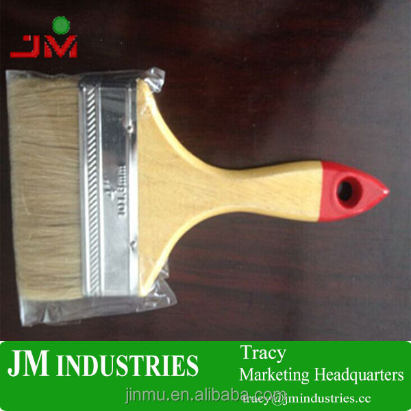 small hand tool wooden handle paint brush for sale