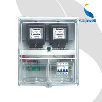 SAIP/SAIPWELL Stealing-Electricity Prevention 220V/380V Electronic and Mechanical Electric Meter Box