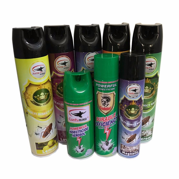 China Manufacture Custom Mosquito Repellent Aerosol Spray