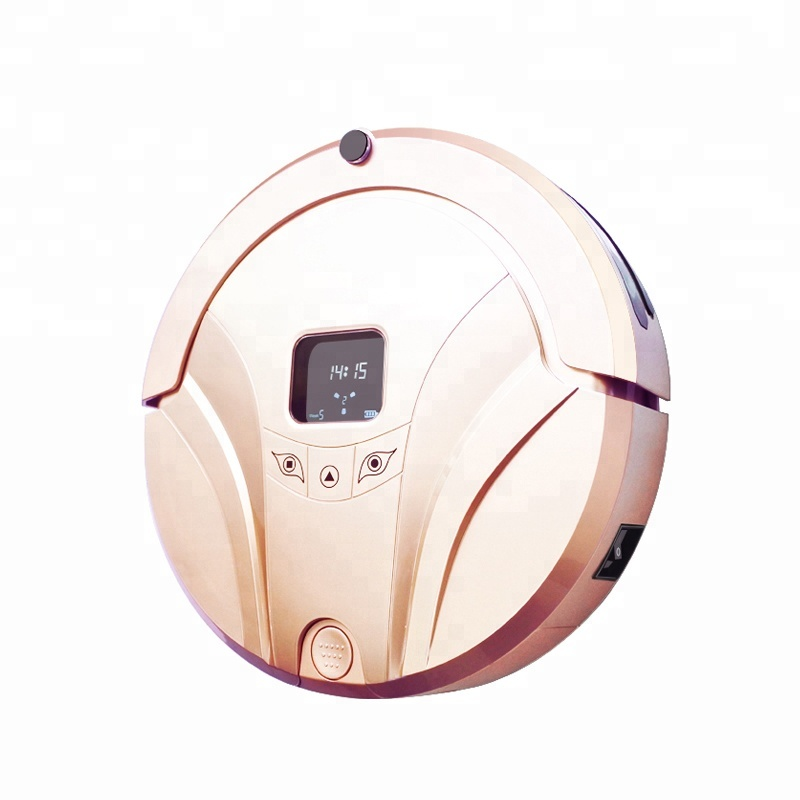 2017 best automatic dry and wet Robot Vacuum Cleaner Sweeping and Mopping floor with water tank