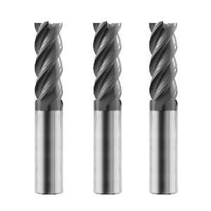 R0.2X4X50L metal cutting tools small diameter tungsten solid carbide end mills