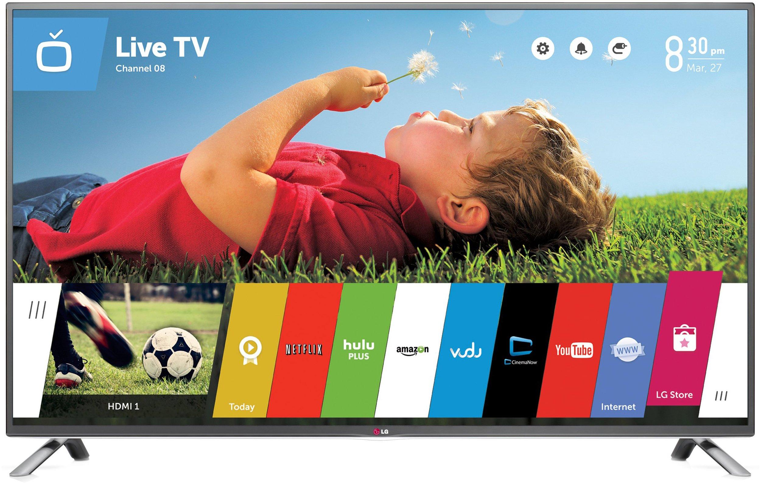 f8f6fe4d1 Get Quotations · LG Electronics 60LB6300 60-Inch 1080p 120Hz Smart LED TV (2014  Model)